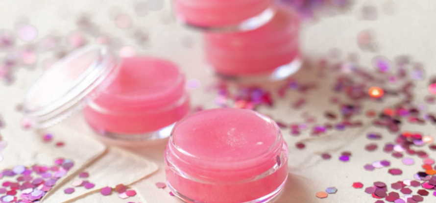 How do you add color to homemade lip balm?