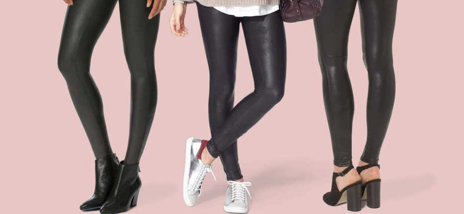 How to wear leather pants to work for women?